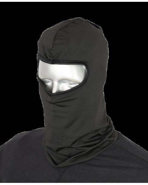 BALACLAVA Polyester Μονόχρωμη Μαύρη