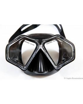 Μάσκα Xifias Sub Black Silicone 829