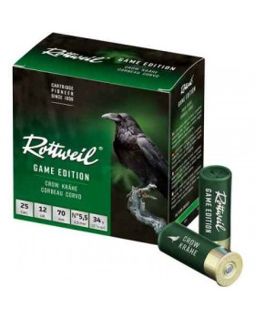 ROTTWEIL GAME EDITION CROW 34 gr. No 5,5