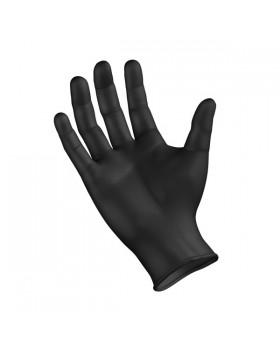 Γάντια Tactical Νιτριλίου Μαύρα σε Συσκευασία 100 Τεμαχίων
