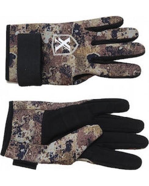 Γάντια Κατάδυσης Xifias Sub Neopren Camo 2.5mm