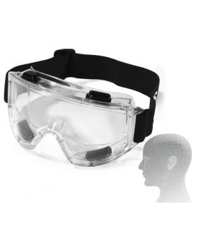 SNCM Μάσκα Γυαλιά πλήρης προστασίας διάφανα