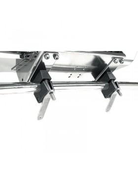 Διπλή οριζόντια βάση στήριξης για ρέλια διαστάσεων 22-25mm