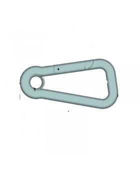 Ασύμετρος γάντζος, AISI 316, διάμ. 8mm