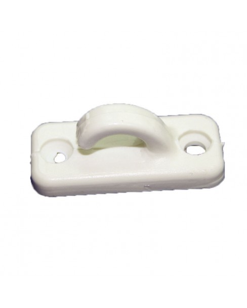 Άγκιστρο Μικρό, για Σχοινί O6mm, L.30mm, Μαύρο