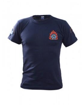 Survivors- Μπλουζάκι μακό με κέντημα Πυροσβεστικής