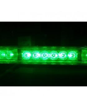 Πράσινος Φάρος Μπάρα Οροφής 12V Strobe 84 Led 105cm