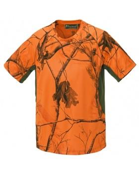 Μπλουζάκι T-Shirt Pinewood Ramsey Camo Orance