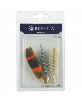 Beretta Set of 3 Shotgun Brushes Steel