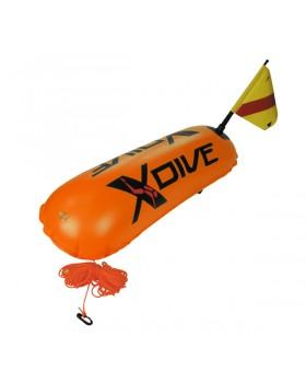 XDive-Σημαδούρα PVC Πορτοκαλί