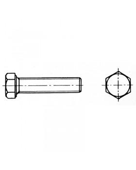 Βίδα εξάγωνη ολικού σπειρώματος 10x30 mm Inox 316 DIN 933 / ISO 4017