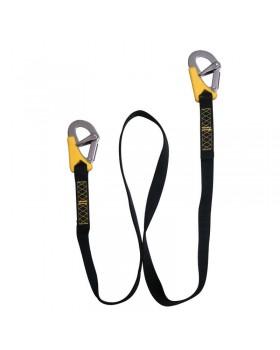 Ιμάντας Ασφαλείας Life-Link, διπλός, ISO 12401, Μ 185cm
