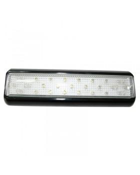 Πλαφονιέρα / Φανάρι Τρέιλερ, 25 LEDs, 12V&24V, μαύρο