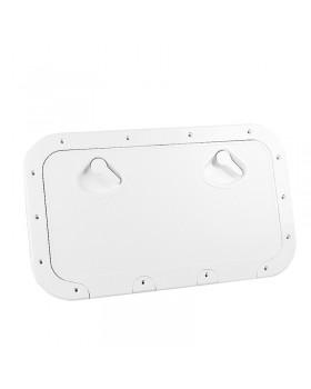 CLASSIC Πορτάκι με Κλειδαριά, Λευκό, 355x600mm