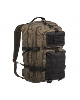 Mil Tec Σάκος Πλάτης Assault LG Tactical 36 Λίτρων - Χακί/Μαύρο