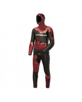 Must Dive-Στολή Λείο/Ξυρισμένο 3.5mm-Heiwa-Camo Red