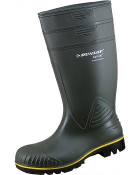 Γαλότσα Dunlop Acifort Heavy Duty Mε κίτρινη ρίγα