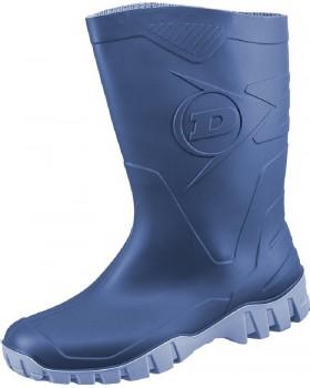 """Γαλότσα κνήμης Dunlop """"DEE"""" / Μπλε"""