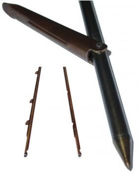 Βέργα Ταϊτής Bucanero Μονόφτερη Εγκοπές 6.25mm