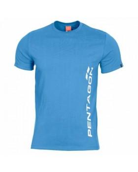 Pentagon-Μπλουζάκι Cotton Ageron Pentagon Vertical Blue