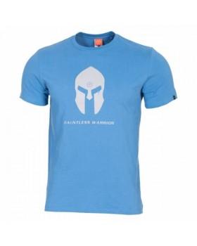 Pentagon-Μπλουζάκι Cotton Spartan Helmet Blue