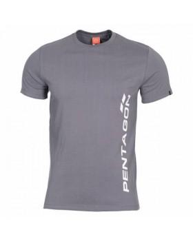 Pentagon-Μπλουζάκι Cotton Ageron Pentagon Vertical Grey