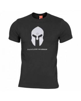 Pentagon-Μπλουζάκι Cotton Spartan Helmet Black