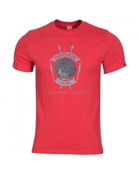 Pentagon-Μπλουζάκι Cotton Warrior Lava Red