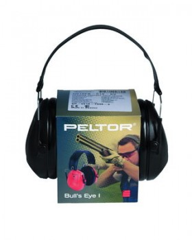 """Peltor-Ωτοασπίδες Σκοποβολής """"BULL´S EYE I"""" - Μαύρες"""