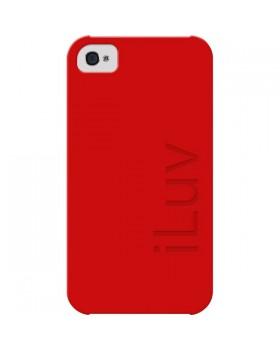 Iluv- Θήκη iLuv για iPhone 4/4S ICC724 Κόκκινη
