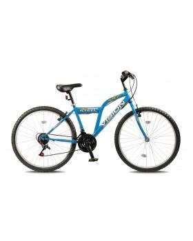 """Ποδήλατο BELDERIA/VISION Steel 26"""" 21 Ταχυτήτων MTB Μπλε"""