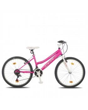 """Ποδήλατο BELDERIA/VISION Venus Lady 24"""" 21 Ταχυτήτων Ροζ"""