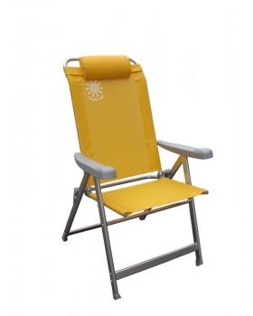 Panda-Καρέκλα Αλουμινίου Παραλίας I