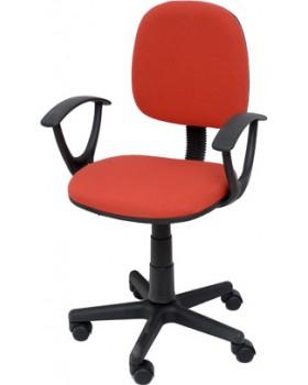 Καρέκλα Γραφείου Παιδική Κόκκινη Velco Κ04767-4