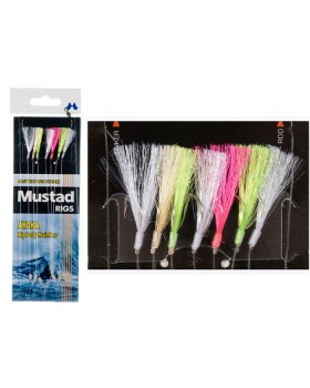 Mustad-Τσαπαρί  4 Αγκιστρίων Τ85