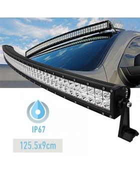 Αδιάβροχος προβολέας CREE LED - μπάρα εργασίας- 480W/12~24V/125.5cm - Ψυχρό φως