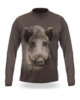 T-Shirt Μακρύ Αγριόχοιρος 3D