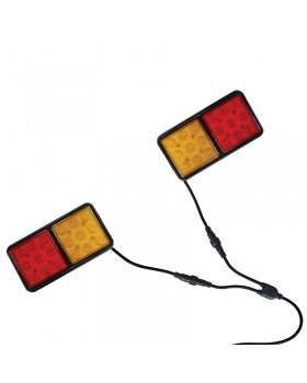 Σετ φαναριών LED για τρέιλερ με καλώδιο 8m