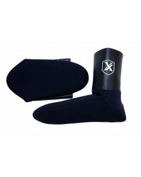 Καλτσάκια Xifias Sub Black Aquastop 3.5mm