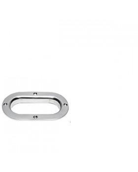 Θυρίδα Αλυσίδας-Σχοινιού Με Καπάκι Inox 238x136mm