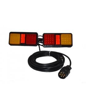 Εγκατάσταση Τρέιλερ Με Φανάρι Πορείας LED