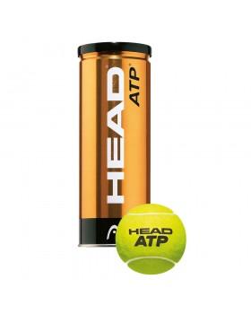 Head-Μπαλάκια Τennis 3 τεμάχια ATP