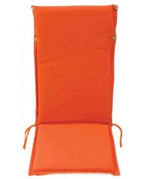 Μαξιλάρι Για Καρέκλα Με Ψηλή Πλάτη 2 Όψεων  Πορτοκαλί