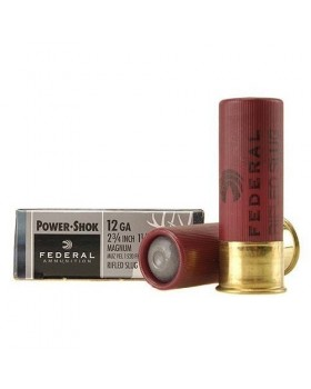 FEDERAL POWER-SHOK 12/70 RIFLED SLUG HOLLOW POINT 1-1/4OZ(F130RS)