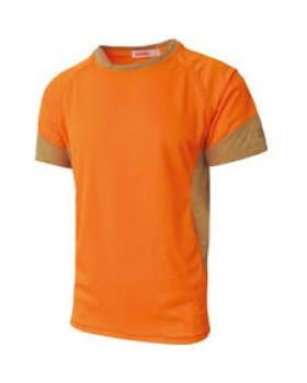 Μπλουζάκι Μακό Dispan Microfiber Orange 915