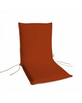 Μαξιλάρι Χαμηλή Πλάτη Διπλής Οψης  Πορτοκαλί-Εκρού
