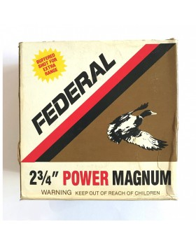 FEDERAL POWER MAGNUM F130 CAL12/70 (BUFFERED)