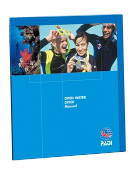Padi-Open Water Manual with RDP Table