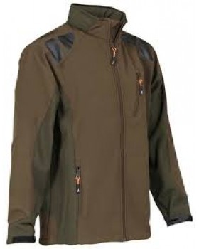 Jacket Percussion Softshell Brown 15103
