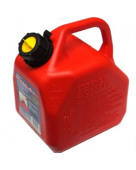 Yamaha 5l Red Plastic Petrol Jerry Can